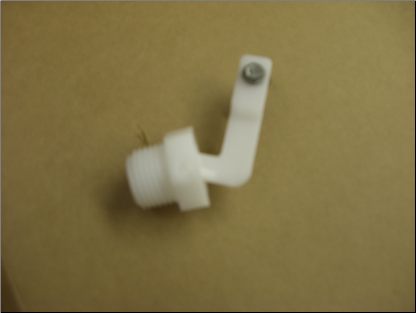 "sab 1/2"" Male White Valve (5-40 psi)"