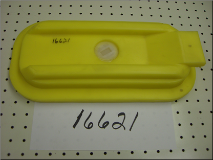 yba 6x14 Rectangular Access Panel - Yellow