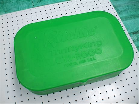 ykb Valve Box Cover for ThriftyKing CT1 - Green Cover for a Green Fountain