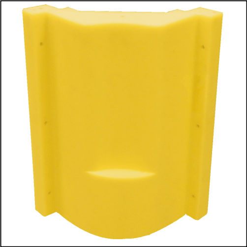 "bc 20"" Stall fount II Shroud - Yellow"