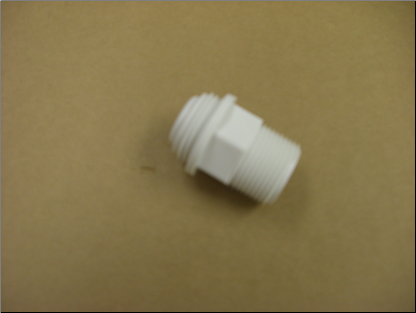"sda Inlet Pkg For 3/4"" Male White Valve"