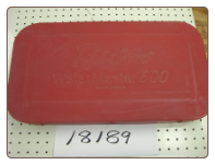 yjc Valve Box Cover for Watermaster 600 - Red Cover for a Yellow Fountain