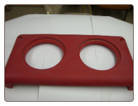ygc Valve Box Top/Cover for the EcoFount 2 - Red Top/Cover for a Yellow Fountain